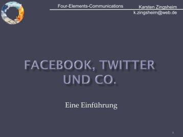 Social Media MArketing - Four-Elements-Communications
