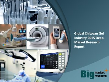 Global Chitosan Gel Industry 2015 Deep Market Research Report