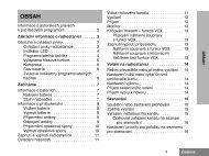 Radiostanice CP040 - návod - echoton.cz