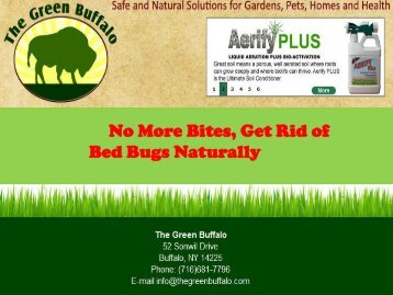 Bed Bugs Naturally
