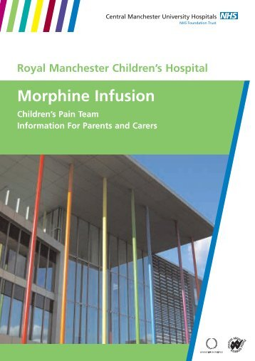Morphine Infusion - Central Manchester University Hospitals - NHS ...