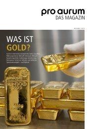 Was ist Gold?