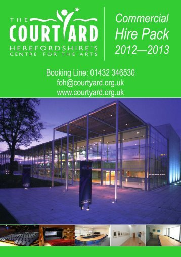 Commercial Hire Pack - The Courtyard