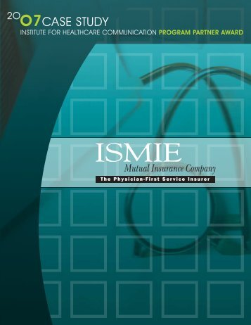 view case study - Institute for Healthcare Communication