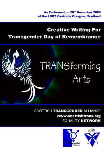 Creative writing for Transgender Day of Remembrance - Scottish ...