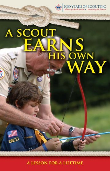 A Scout Earns His Own Way