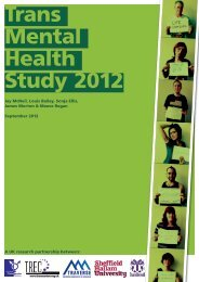 Trans Mental Health Study 2012 - The Gender Identity Research ...