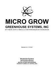 Manual - International Greenhouse Company