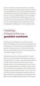 Einlagensicherung der privaten Banken - Kurzinformationen - Page 5