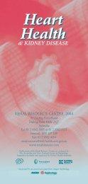 Heart Health Heart Health - Renal Resource Centre