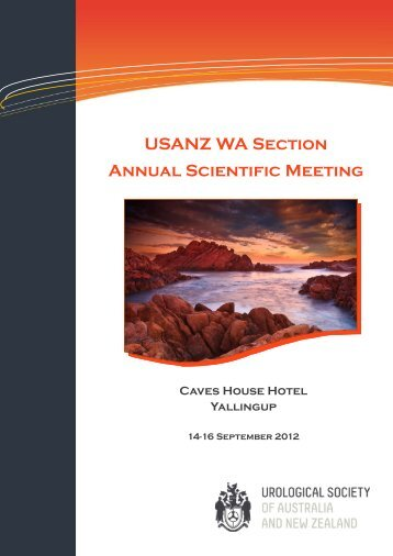 USANZ WA Section Annual Scientific Meeting - Urological Society of ...