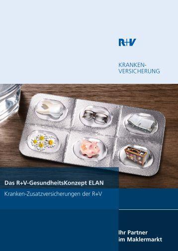KRANKEN- VERSICHERUNG Das R+V ... - R+V Maklerportal