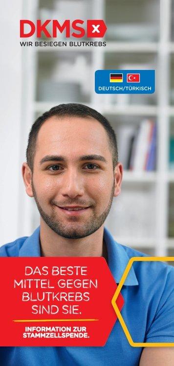 Informationen über die DKMS (deutsch-türkisch)