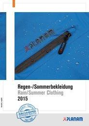 K3S Planam Regen- und Sommerbekleidung