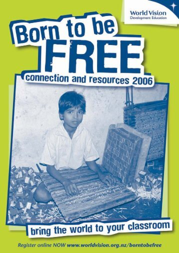 offline registration form - Born to be Free - World Vision New Zealand