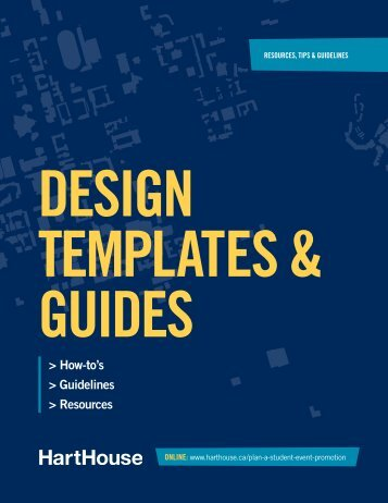 Design Template User Guide - Hart House