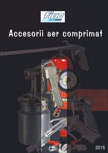 Catalog accesorii aer comprimat FIAC