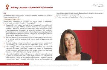 Kobiety i leczenie zakażenia HIV (ćwiczenia) - SHE Programme