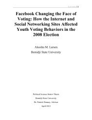 Facebook Changing the Face of Voting - Dr. Donnay's Weblog