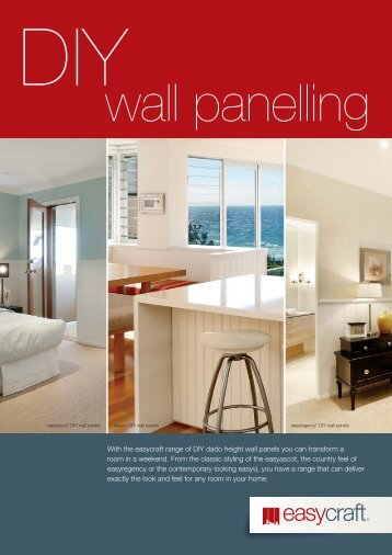 DIY Wall Panelling Brochure - Trade Essentials