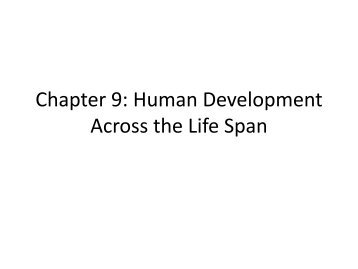 chapter 11 human development across the • consistent chapter organization for each stage of growth and development makes information easy to access • critical thinkingscenarios and questions appear at the end ofeach chapter to help students consider all variables when planning care across the lifespan.