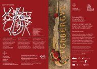 to view a PDF leaflet with the itinerary of the event.
