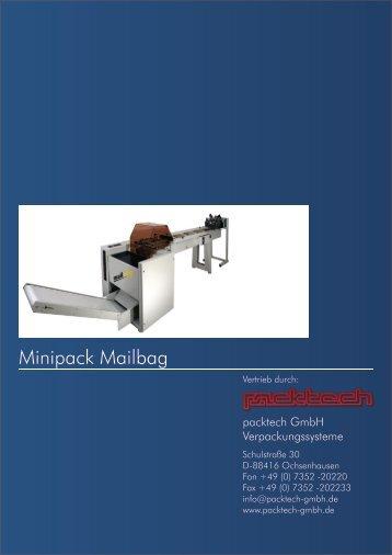 MAILBAG Automatische vertikale ... - Packtech-GmbH