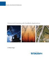 Concurrent Licensing with GeoMedia Applications - Norconsult