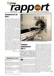 Tumör- sjukdomar del 2 Sommaren är här! - Doggy Rapport