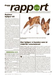 Doggy Rapport 2 - 2012