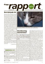 Doggy Rapport 3 - 2011