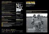 Programme for May 2012 - Hyde Park Picture House