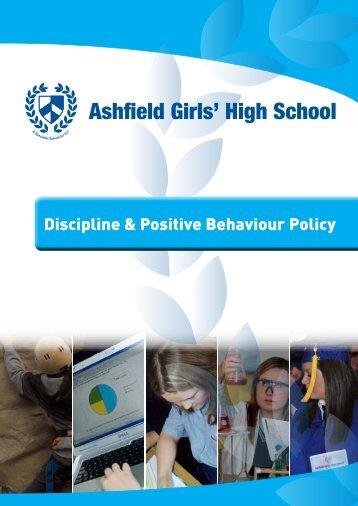 Discipline & Positive Behaviour Policy PDF - Ashfield Girls' High ...