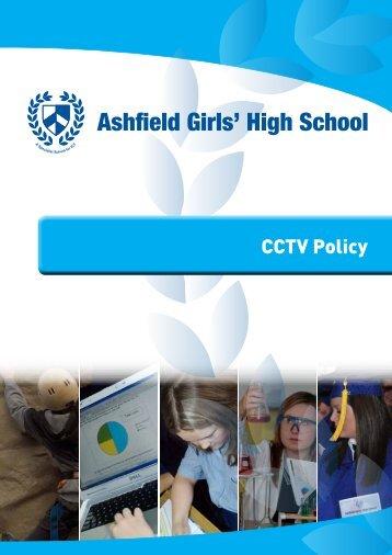CCTV Policy PDF - Ashfield Girls' High School