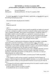 HOTĂRÂREA GUVERNULUI nr. 1222 din 13 octombrie 2005 privind ...