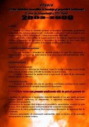 Analiza situaţiilor de urgenţă 2003-2009 - Inspectoratul pentru ...