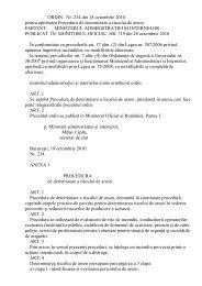 ORDIN Nr. 234 din 18 octombrie 2010 pentru aprobarea Procedurii ...