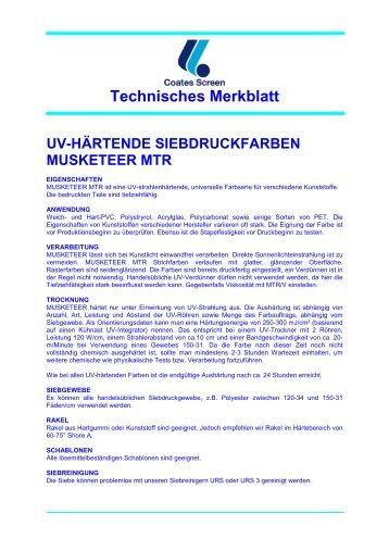 MUSKETEER MTR - bauer+bauer