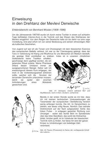 Einweisung in den Drehtanz der Mevlevi Derwische - Choretaki