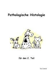 Pathologische Histologie für den 2. Teil - Vetstudy