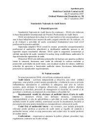 Standardele Naţionale de Audit Intern - Curtea de Conturi a ...