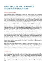VIAGGIO IN TOGO - Associazione Macondo