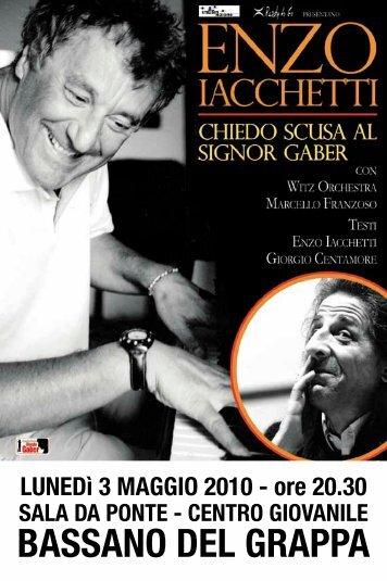 serata di Enzo Iacchetti - Associazione Macondo