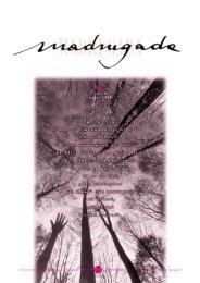 Madrugada numero 29 - Associazione Macondo