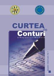 Buletin informativ - Curtea de Conturi a Republicii Moldova