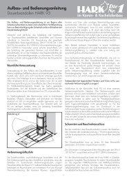 und Bedienungsanleitung im Kamin - Kaminbau GmbH
