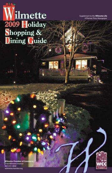 Wilmette Holiday Shopping - Pioneer Press Communities Online