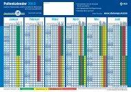 Pollenkalender 2012 - Freie Universität Berlin