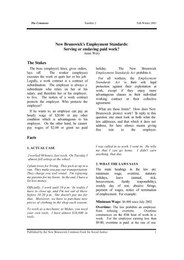 new brunswick document management act