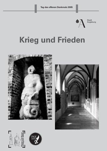Krieg und Frieden - Stadt Augsburg
